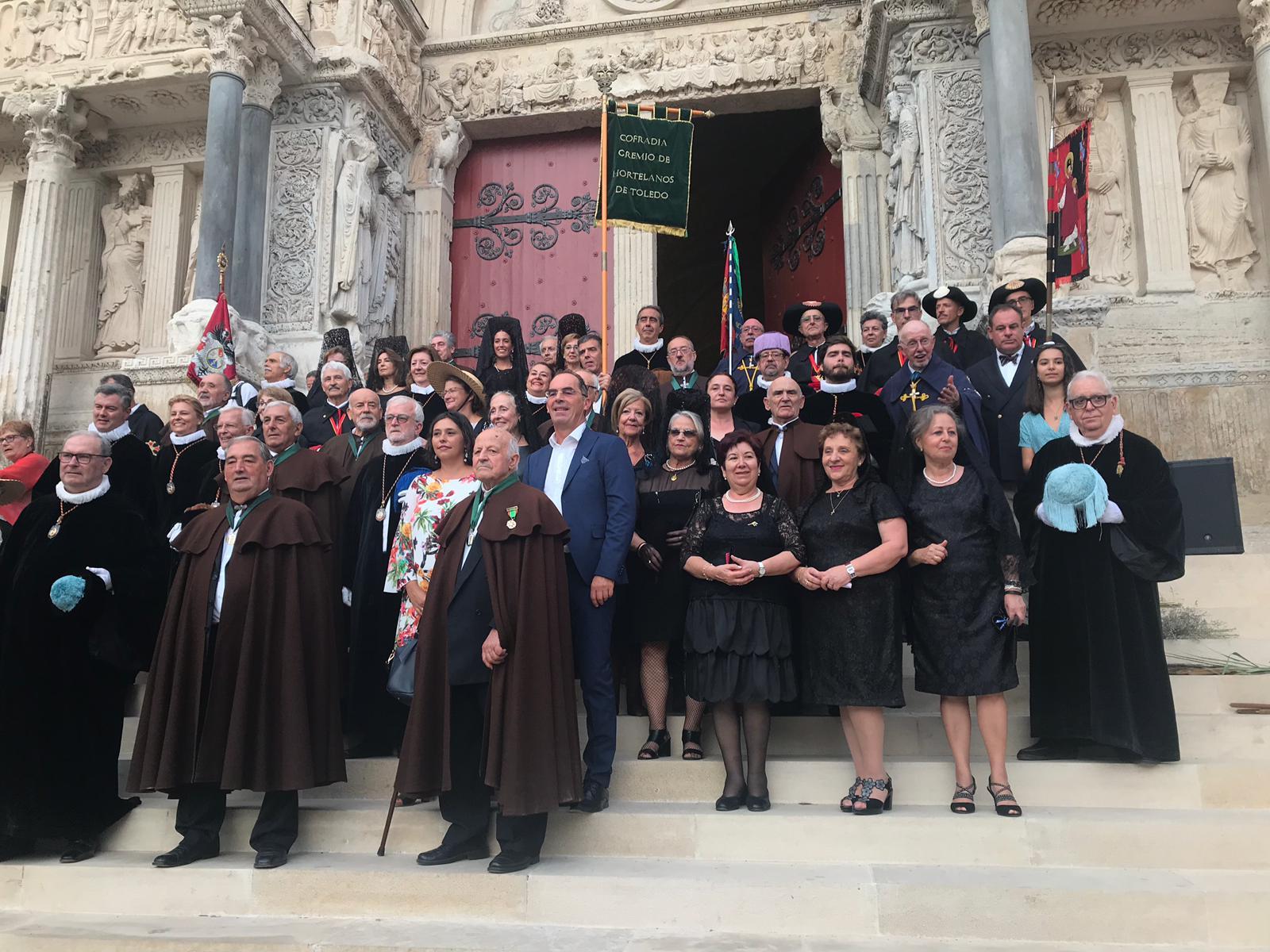 Peregrinación de Cofradías a la Abadía de Saint Gilles (13)