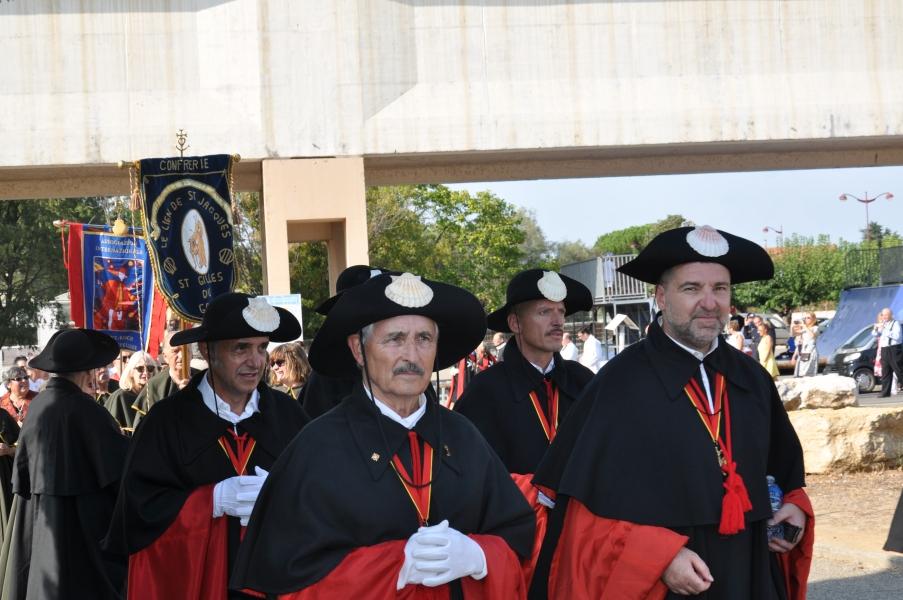 Peregrinación de Cofradías a la Abadía de Saint Gilles (4)