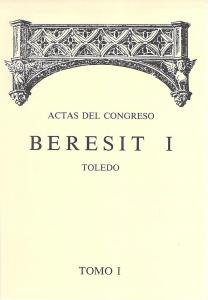Actas del CONGRESO BERESIT I Tomo I Año 1991