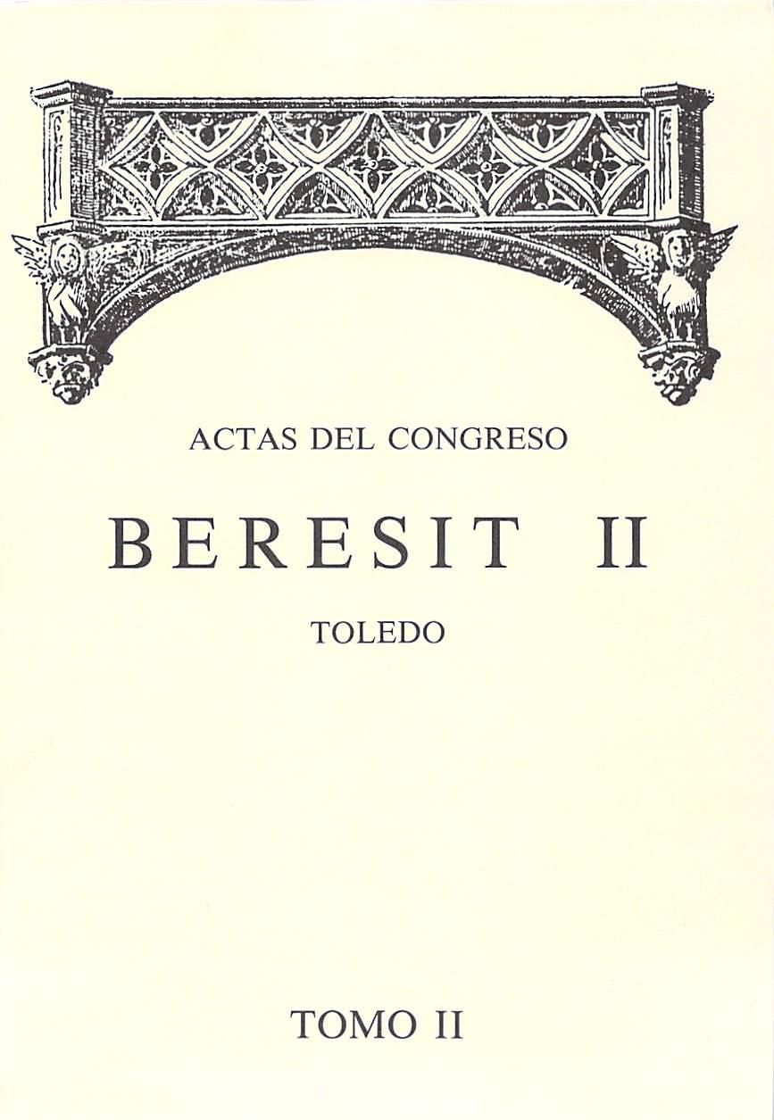 Actas del CONGRESO BERESIT I Tomo II Año 1991