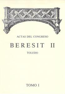 Actas del CONGRESO BERESIT II Tomo I Año 1992