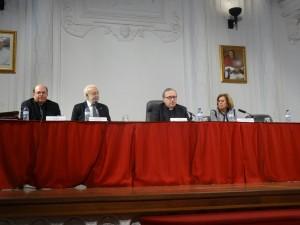 De izquierda a derecha, Juan Miguel Ferrer, Rodolfo Box, Francisco Mª Fernández y Carmen Torres.