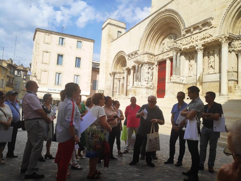 Explicación del pórtico por el cofrade D. Francois Amigues (4)