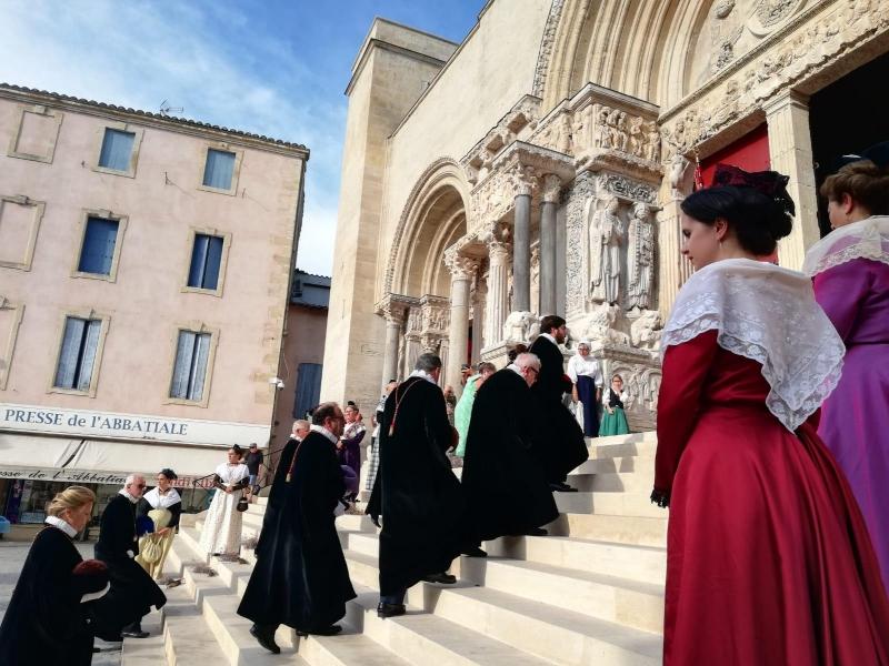 Peregrinación de Cofradías a la Abadía de Saint Gilles (14)